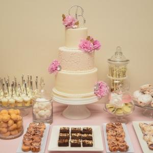 Dessert Table Cake and Decor