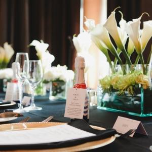 Art Deco Wedding Reception Decor