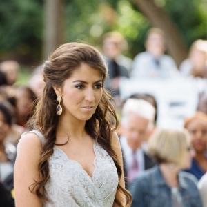 Vintage-Chic-Wedding-Bridesmaid