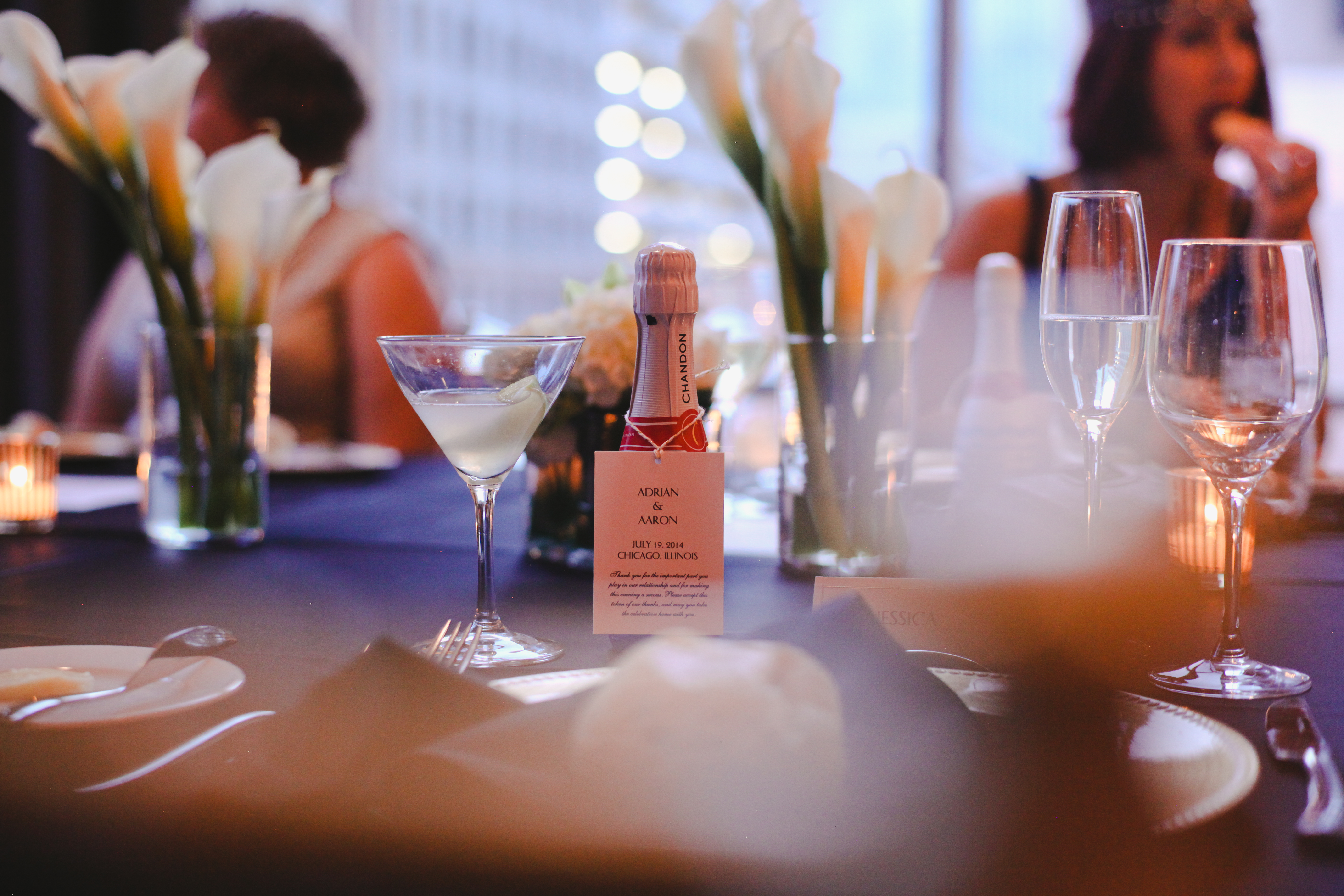 Chicago-Wedding-Champagne-Favors