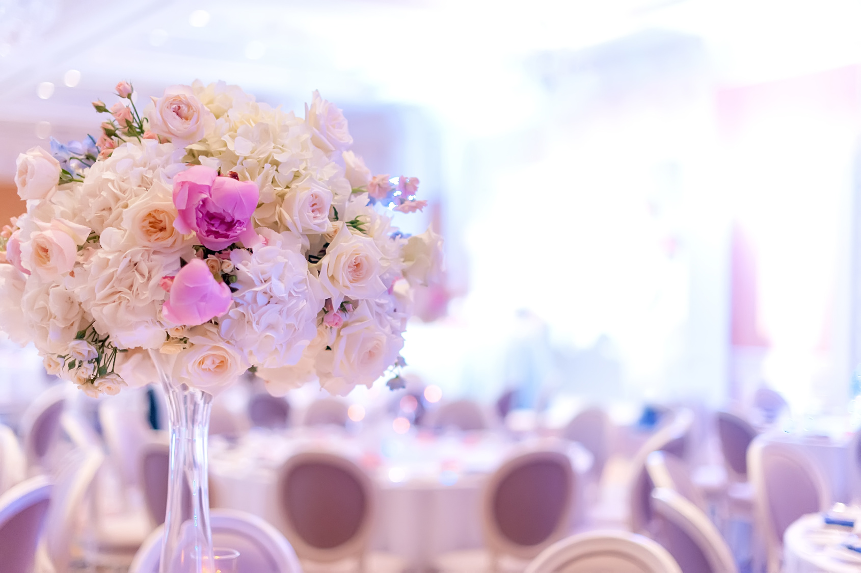Wedding-Reception-Floral-Centerpiece